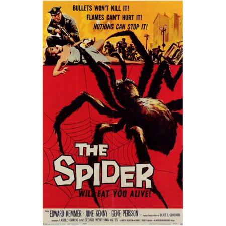 The Spider POSTER Movie Mini Promo - Eugene Halloween