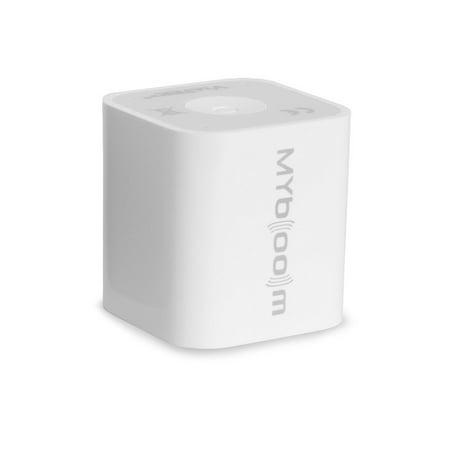 Viatek My Boom Bluetooth Speaker, White (As Seen On TV)