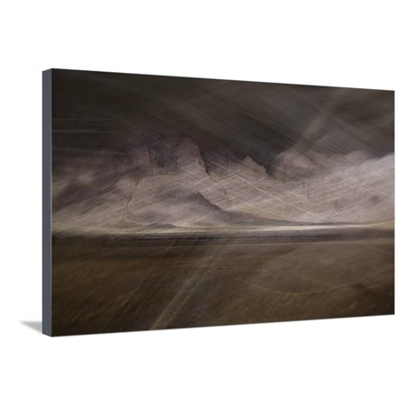 Desert Storm Stretched Canvas Print Wall Art By Valda Bailey (Bailey Canvas Print)
