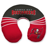 Tampa Bay Buccaneers Wave Memory Foam U-Neck Travel Pillow - Red