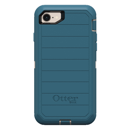 OtterBox Defender Series Pro Phone Case for Apple iPhone SE (2nd Gen), iPhone 8, iPhone 7 - Blue
