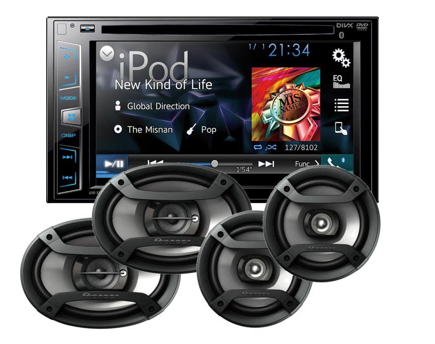 Pioneer AVH-X2800BS DVD 6.2' Receiver w  6x9' TS-695P & 6.5' Speakers TS-165P by Pioneer