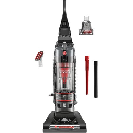 Hoover WindTunnel 2 Rewind Pet Bagless Upright Vacuum, UH70831PC