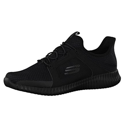 52640 Black Skechers Shoe Men Memory Foam Sport Walk Mesh Comfort Slip On Bungee