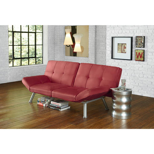 Mainstays Contempo Tufted Futon Couch , Multiple Colors by Dorel Home Products