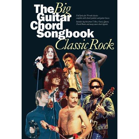 The Big Guitar Chord Songbook: Classic Rock - eBook