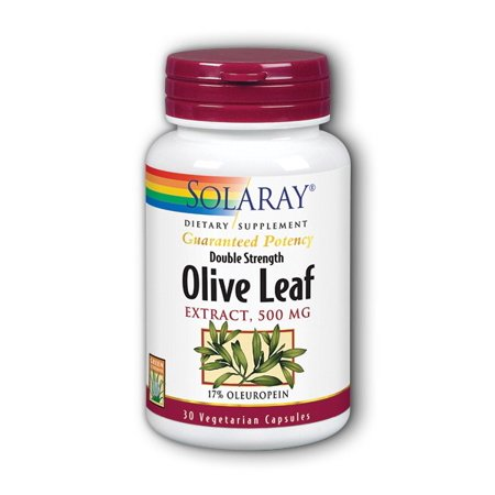 Olive Leaf Two Daily 500mg Solaray 30 Caps
