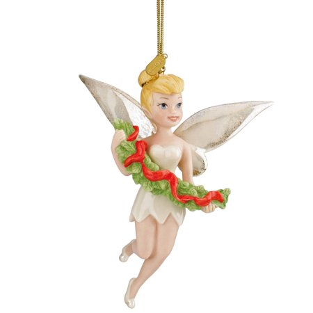 Tinkerbell Christmas Ornament.Lenox Disney Annual Tinkerbell Ornament Trimming With Tink New 2014