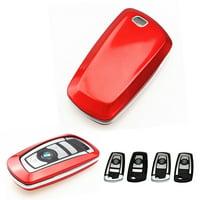Xotic Tech 1 Set Keyless Smart Key Fob Matte White Shell Cover Case for BMW 1 3 4 5 6 series X3 M5 M6 GT3 GT5