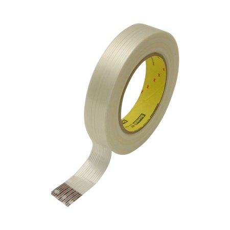 - 3M Scotch 897 Filament Strapping Tape: 1 in. x 60 yds. (Clear)