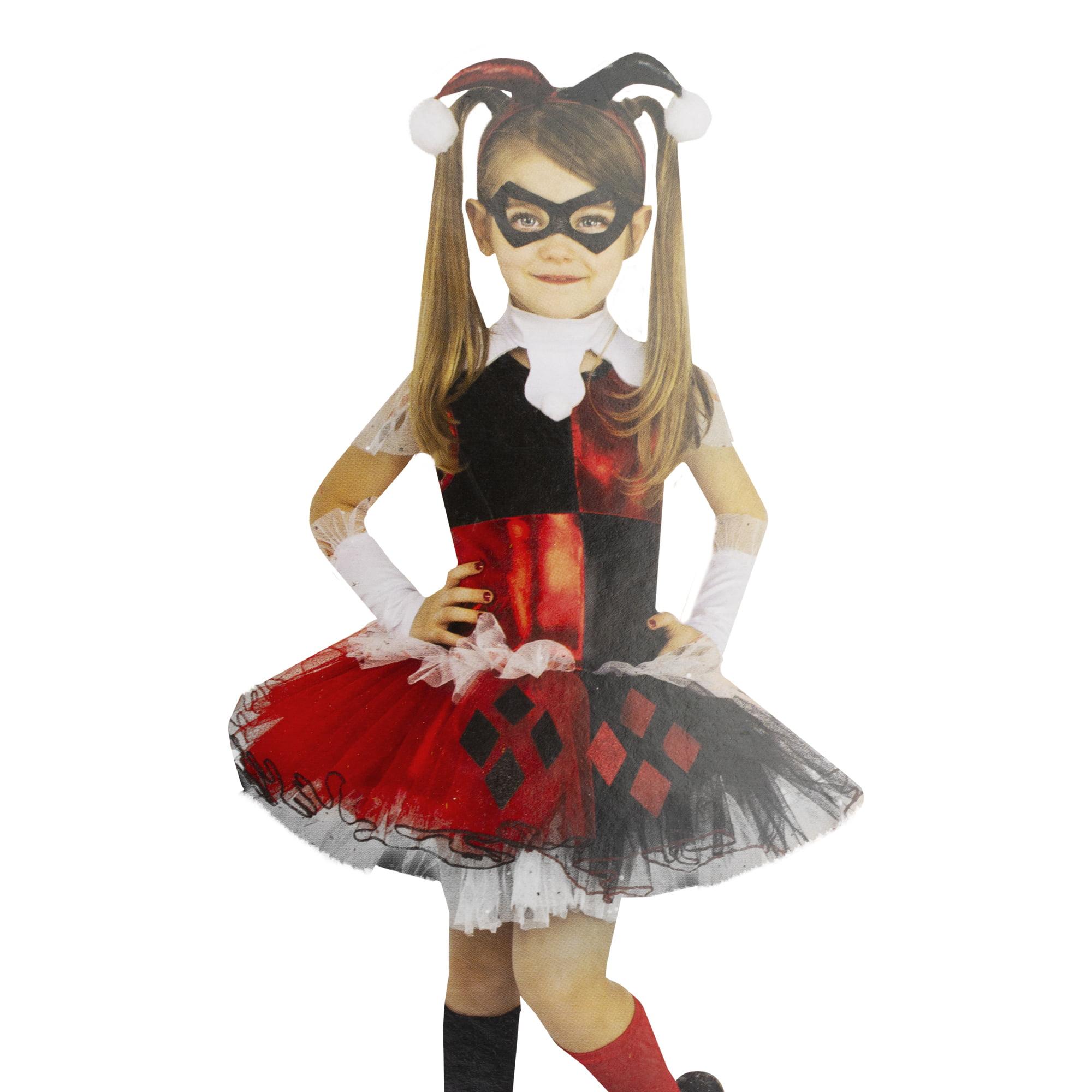 Size 12 Girls Halloween Costumes.Harley Quinn Girls Halloween Costume Size Large 12 14 Ages 8 10 Walmart Com Walmart Com