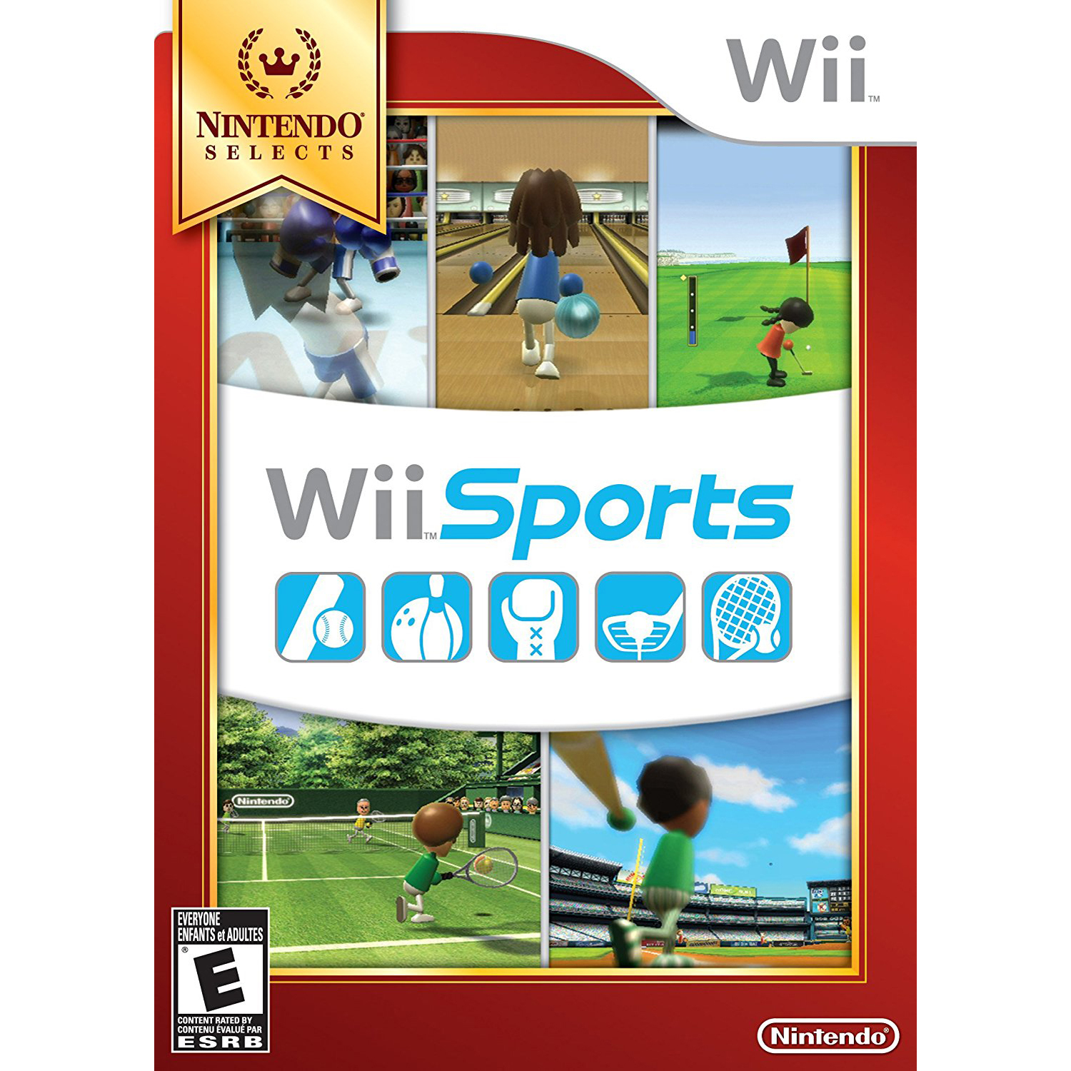 Wii Sports Club - Bowling, Nintendo, WIIU, [Digital Download], 0004549666025