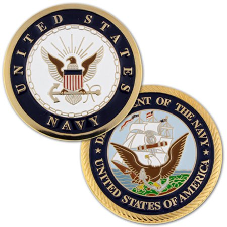 U.S. Navy Commemorative Challenge Coin