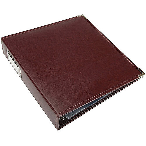 We R Memory Keepers RING 8. 5-40355 We R Faux Leather 3-Ring Binder 8. 5  x 11 Inch