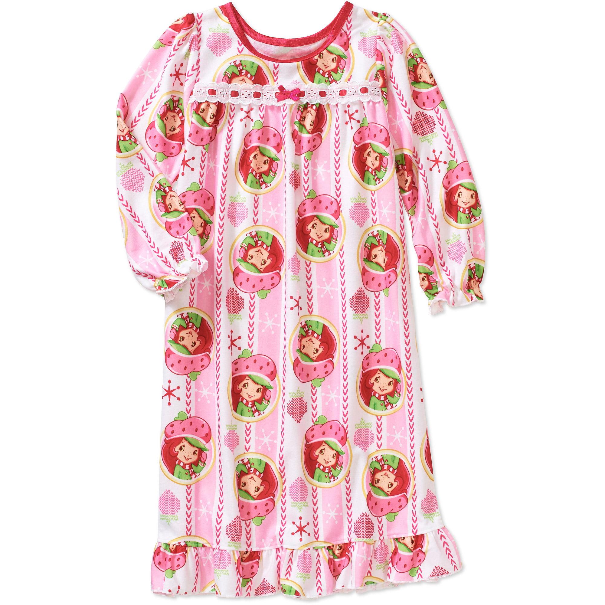 Baby Toddler Girl Strawberry Shortcake Baby Nightgown Walmart