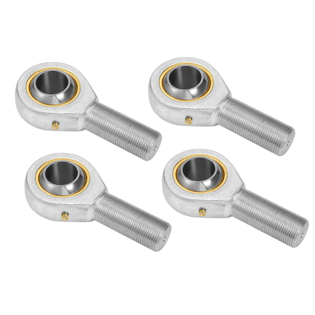 POS8 8mm Inside Dia 11.6KN Economy Male Right Hand Rod End Bearing 4pcs
