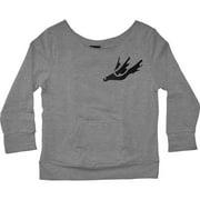 Thursday  Girls Jr Sweatshirt Grey