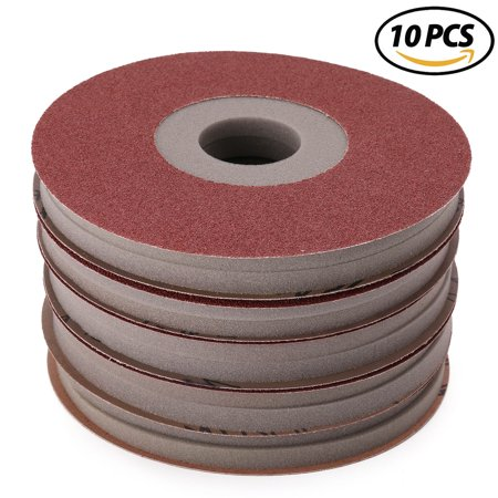 Rubber Sanding Pad (8-7/8 in Drywall Sanding Discs, Used with PORTER-CABLE 7800 Drywall Sander - 60 80 120 150 220 Grit Foam-backed Abrasive Pads Assortment, Pack of 10 )