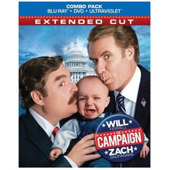 The Campaign Extended Cut Blu-ray