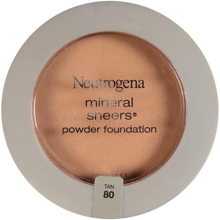 Neutrogena mineral sheers compact powder 80 Tan -0.34oz