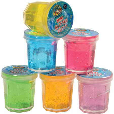 Party Favors For Women (Mini Glitter Slime Bucket Easter Egg Filler 1.25