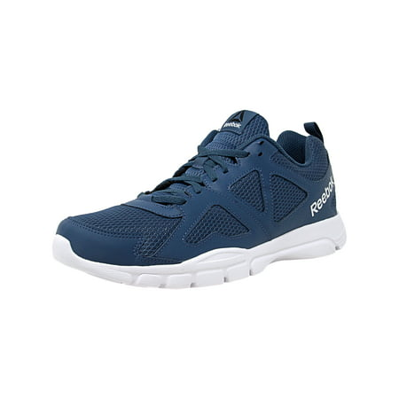 Reebok Men's Dash Train Brave Blue / White Pewter Ankle-High Training Shoes -
