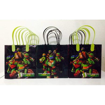 Ninja Turtles Goodie Bags (Ninja Turtles Party Favor Goodie Small Gift Bags)