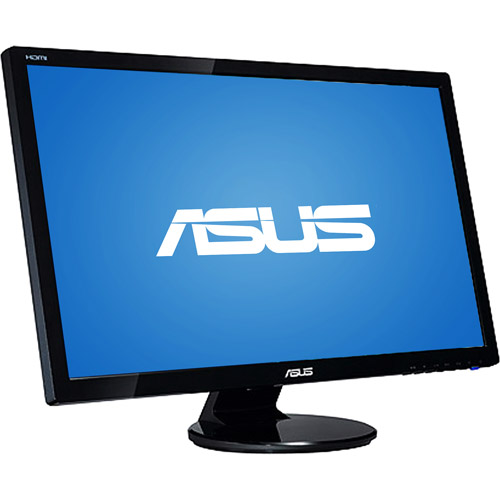 """ASUS 27"""" Widescreen LCD Monitor, Black (VE278Q)"""