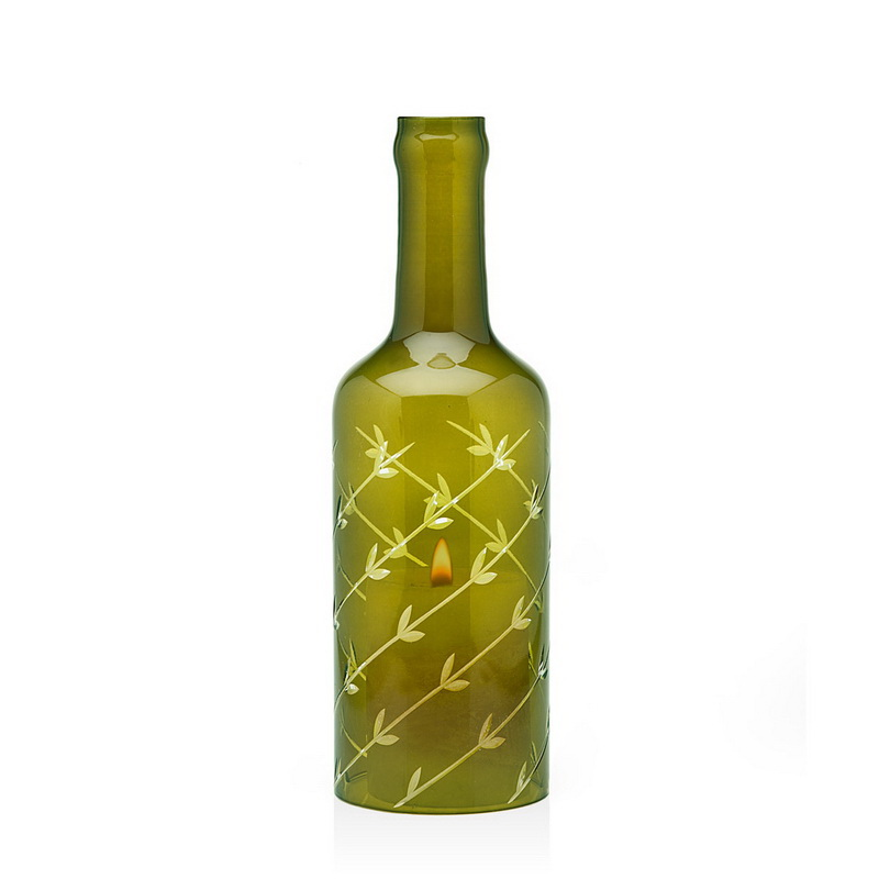 Godinger Floral Wine (Red) Bottle Hurricane