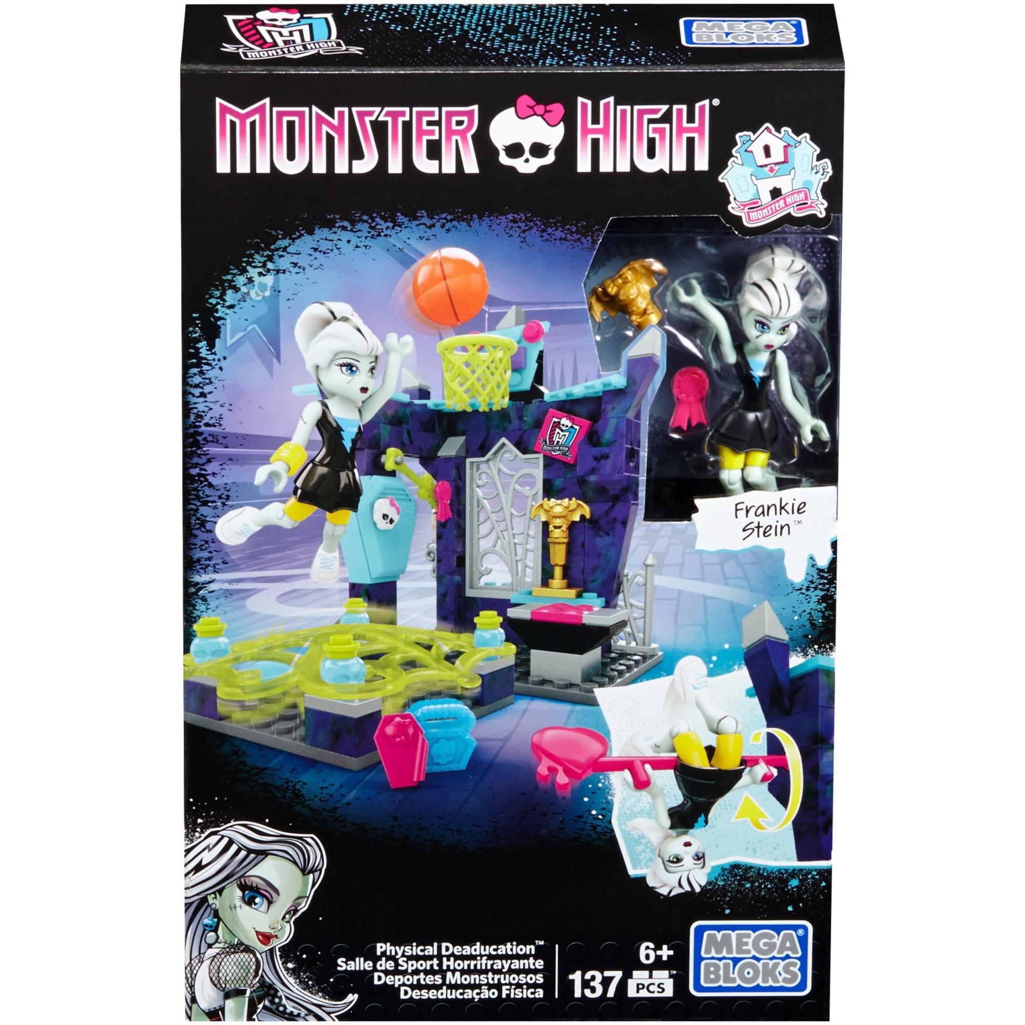 Mega Bloks Monster High Physical Deaducation Frankie Stein Doll by MATTEL INC.