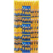 Despicable Me Minions Authentic Licensed 12 Wood Pencils Pack