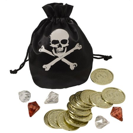 Coin Pouch Jewel Set Doubloons Pirate (Pirate Coin Purse)