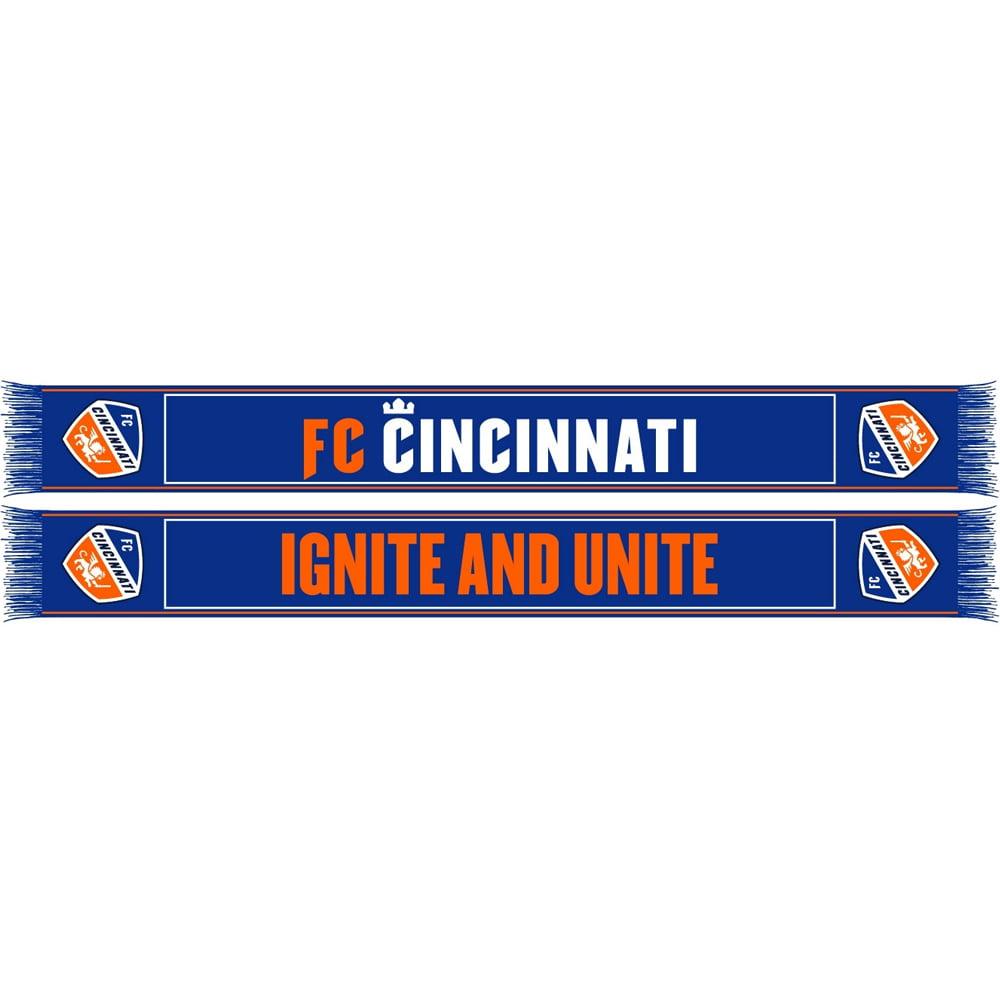 FC Cincinnati Ignite Sublimated Scarf - Blue - No Size