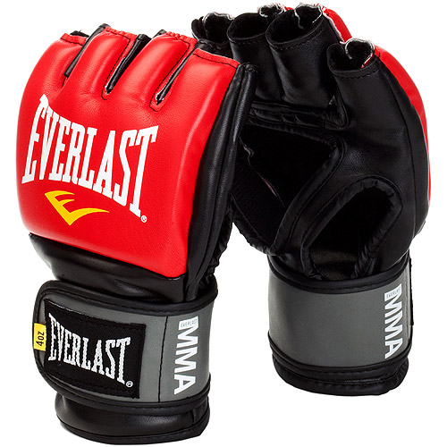 Everlast Pro Style Competition Grappling Gloves, Red