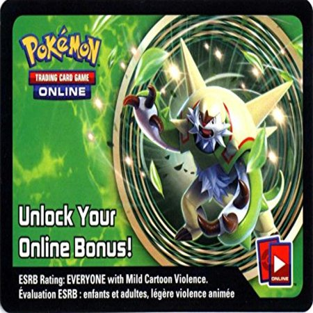 Pokemon Chesnaught Tin Promo Code Card for Pokemon TCG Online - The Cute Kid Promo Code