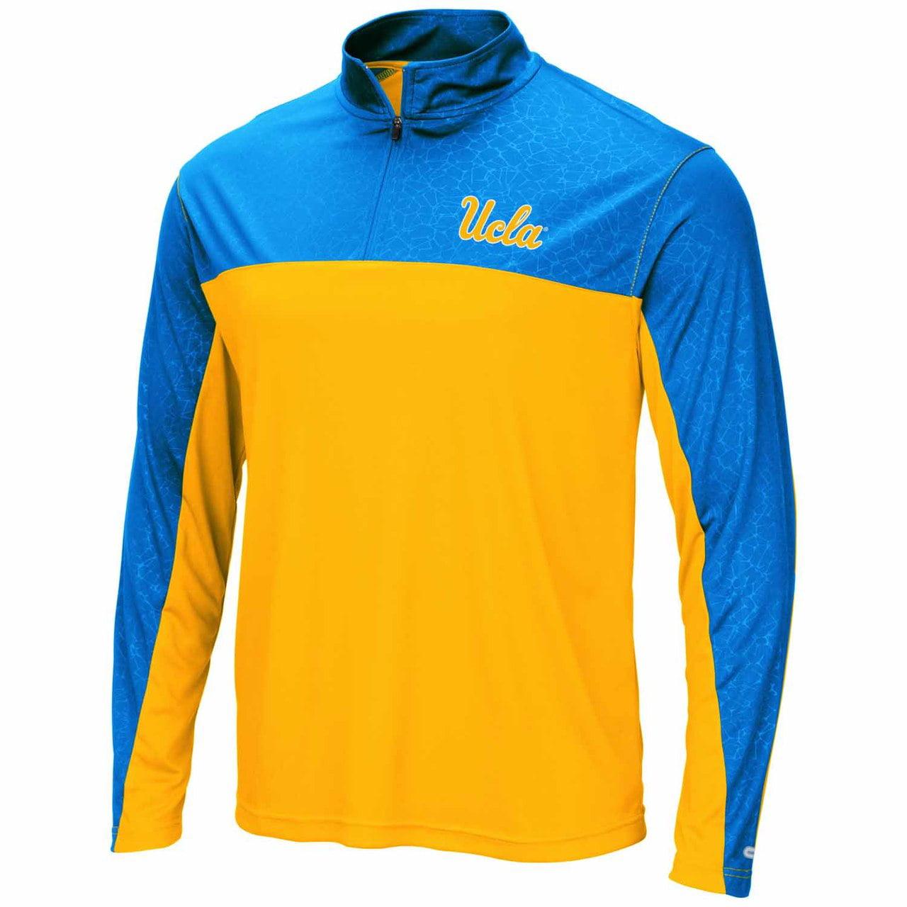 UCLA Bruins Adult Luge 1/4 Zip Windshirt - Team Color