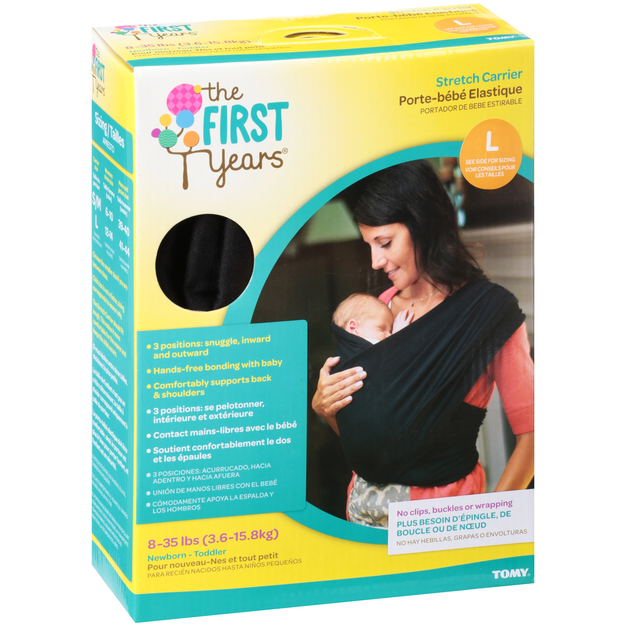 The First Years Large Stretch Carrier 2 pc Box