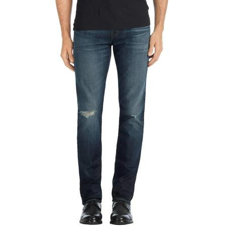 ae2d51d320cf7 J Brand - J Brand Mens Mick Skinny Fit Moto Jeans 33 Relic - Walmart.com