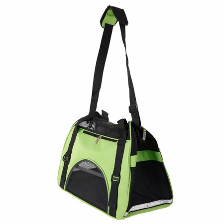 Pet Carriers Bags (Akoyovwerve Portable Breathable Pet Pouch Handbag, Dog Cat Puppy Outdoor Carrier Sling Hands-Free Shoulder Travel Bag Tote Handbag Carrier, Green ,Size)