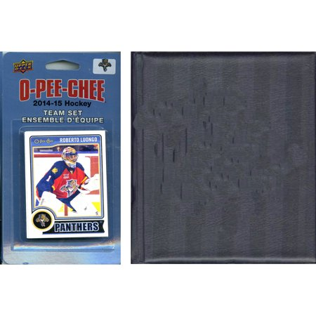 C&I Collectables NHL Florida Panthers 2014 O-Pee-Chee Team Set and Storage (Florida Mall Sports Stores)