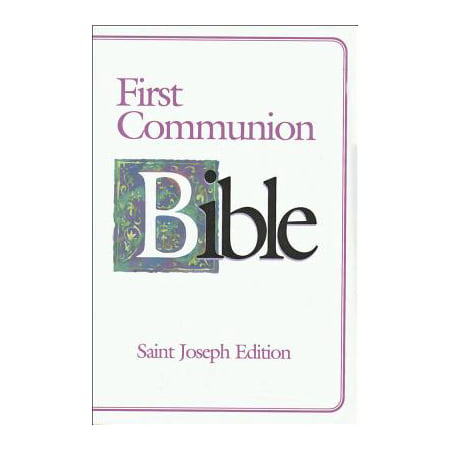 First Communion Bible-NABRE-Saint Joseph (Life History Of Joseph In The Bible)