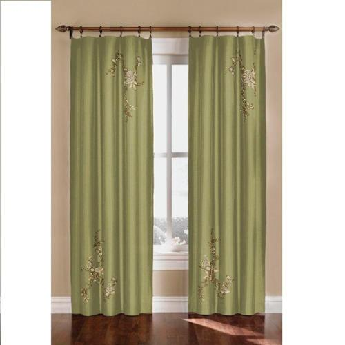 CHF Industries Alesandra Floral Accent Window Curtain Panel