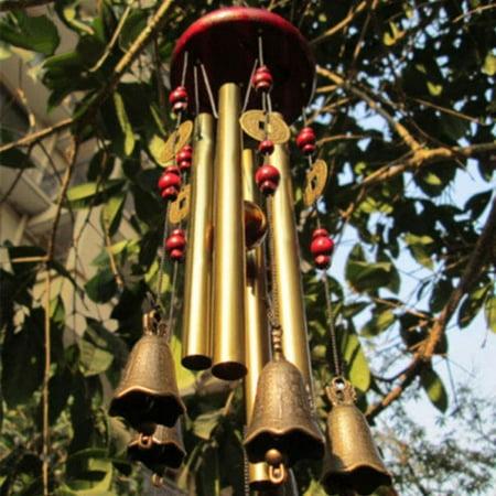 Wind Chimes Outdoor Garden Yard Bells Hanging Decor New Year Gift (Yard Decor Ideas)