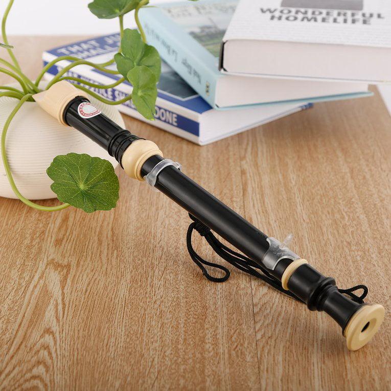 2017 Hot Sale QIMEI Food Grade ABS Non-toxic Treble Flute 8-Hole Soprano Recorder Clarinet... by