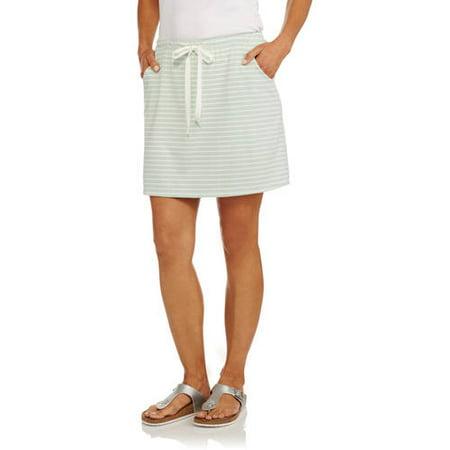 Silverwear Women's Jersey Flared Skort