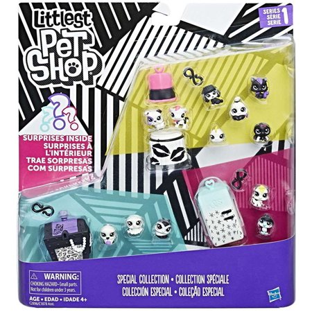 Littlest Pet Shop Black & White Pet Pack - Littlest Pet Shop Cupcakes