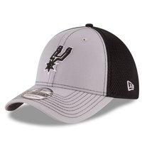 San Antonio Spurs New Era Grayed Out Neo 39THIRTY Flex Hat - Gray