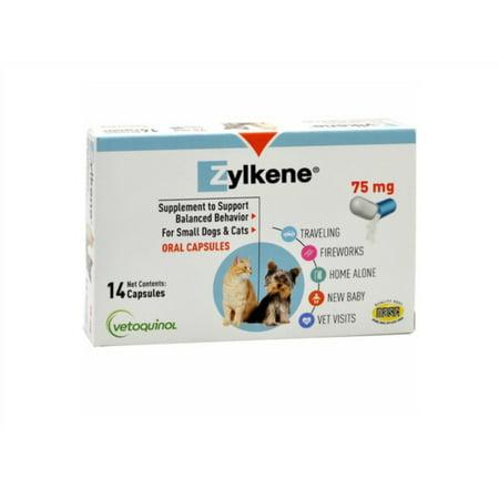 Vetoquinol Zylkene 75Mg Capsules  14 Capsules
