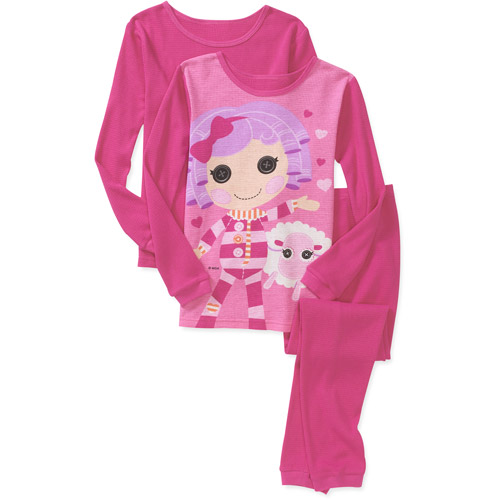 Lala Loopsy - Girls' 3 Piece Thermal Und