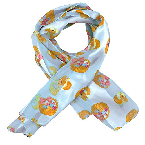 Blue Easter Images 2 Ladies Scarves